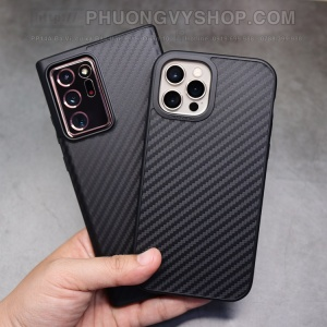 Ốp lưng Rhinoshiel Solid Suit Carbon iPhone 12 Pro 6.1""